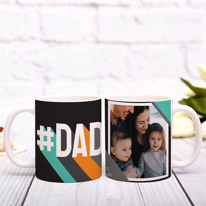 Picture of #DAD Personalized Mug
