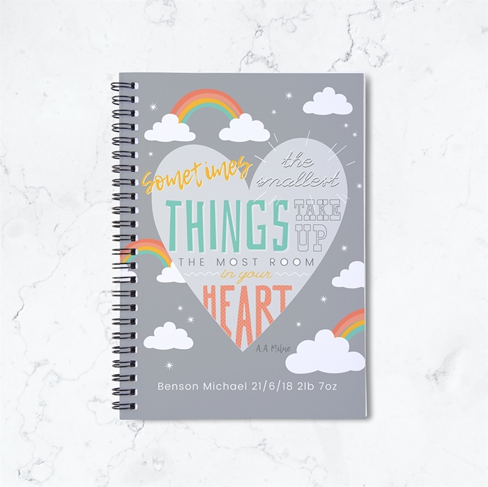 Picture of Smallest Things Spiral Notebook
