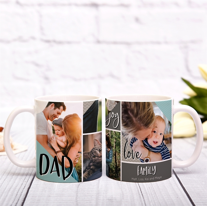 Picture of Dad Family Personalized Mug