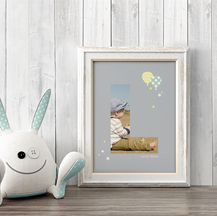 Picture of Baby & Kids Letter L Poster