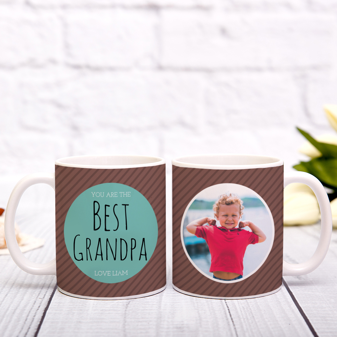 Picture of Best Grandpa Personalized Mug
