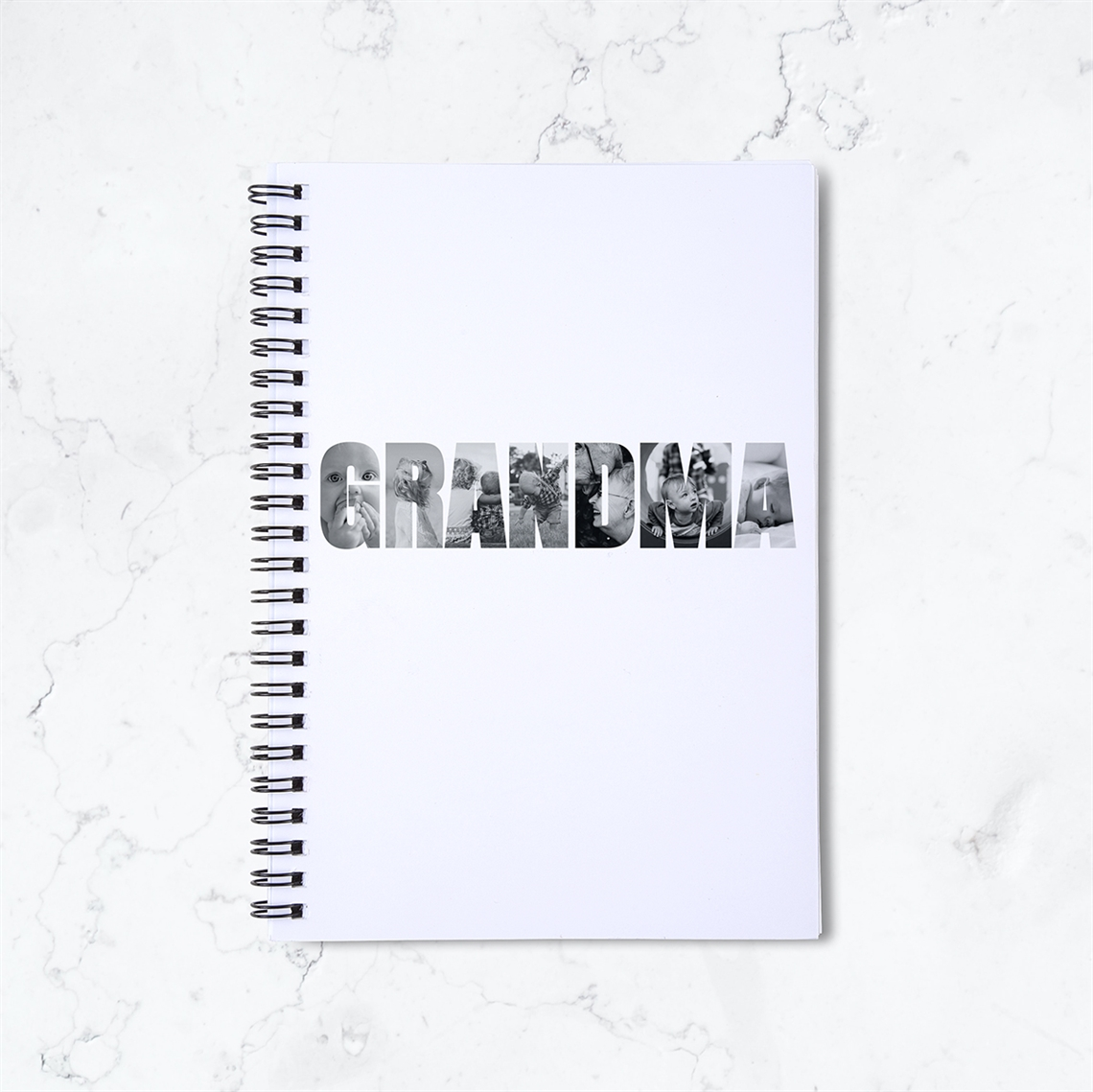 Picture of Grandma Spiral Notebook