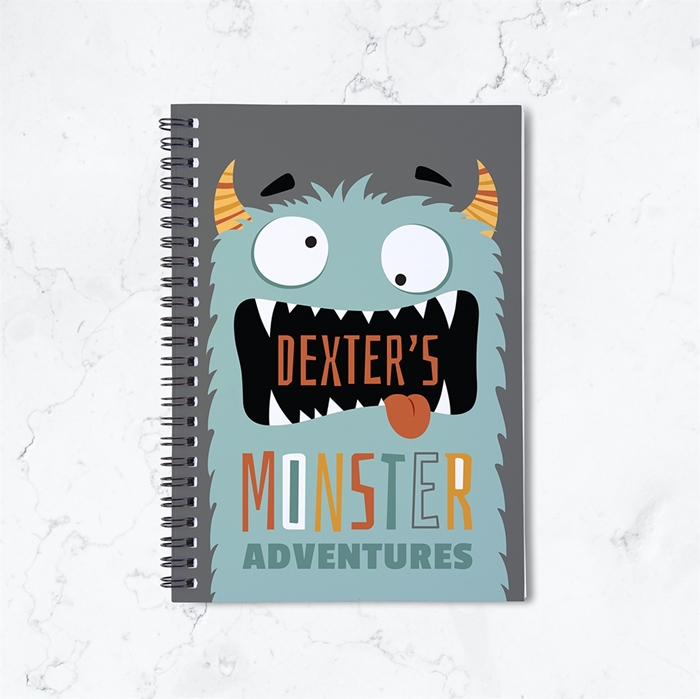 Picture of Monster Spiral Notebook