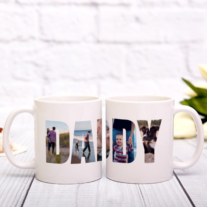 Picture of Daddy Photo Personalized Mug