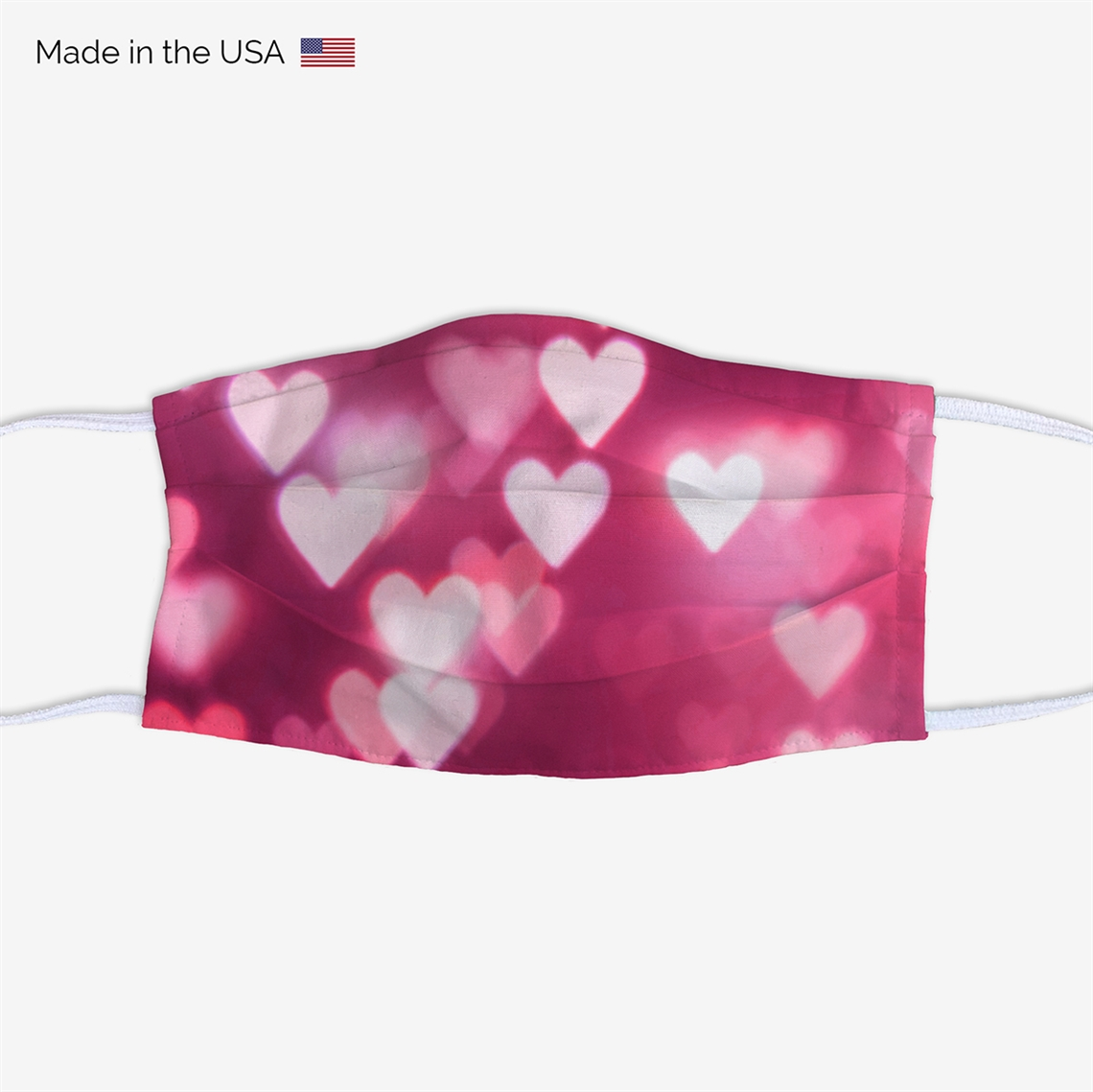 Picture of Hearts Face Mask