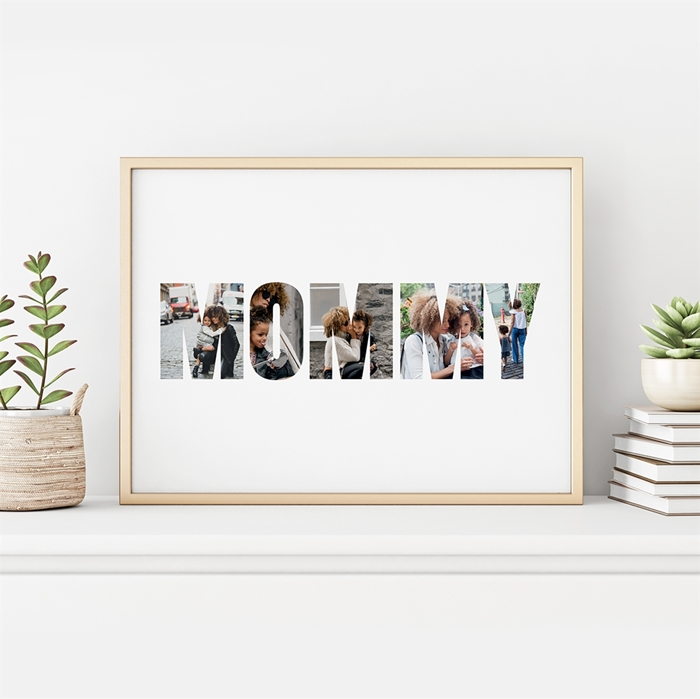 Picture of Mommy Photo Personalized Poster