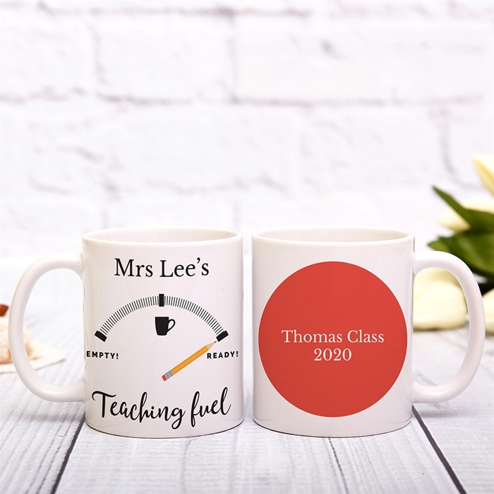 Picture of Teacher Fuel Personalized Mug
