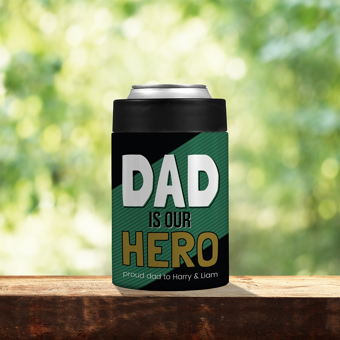 Picture of Dad Hero Stainless Steel Koozie