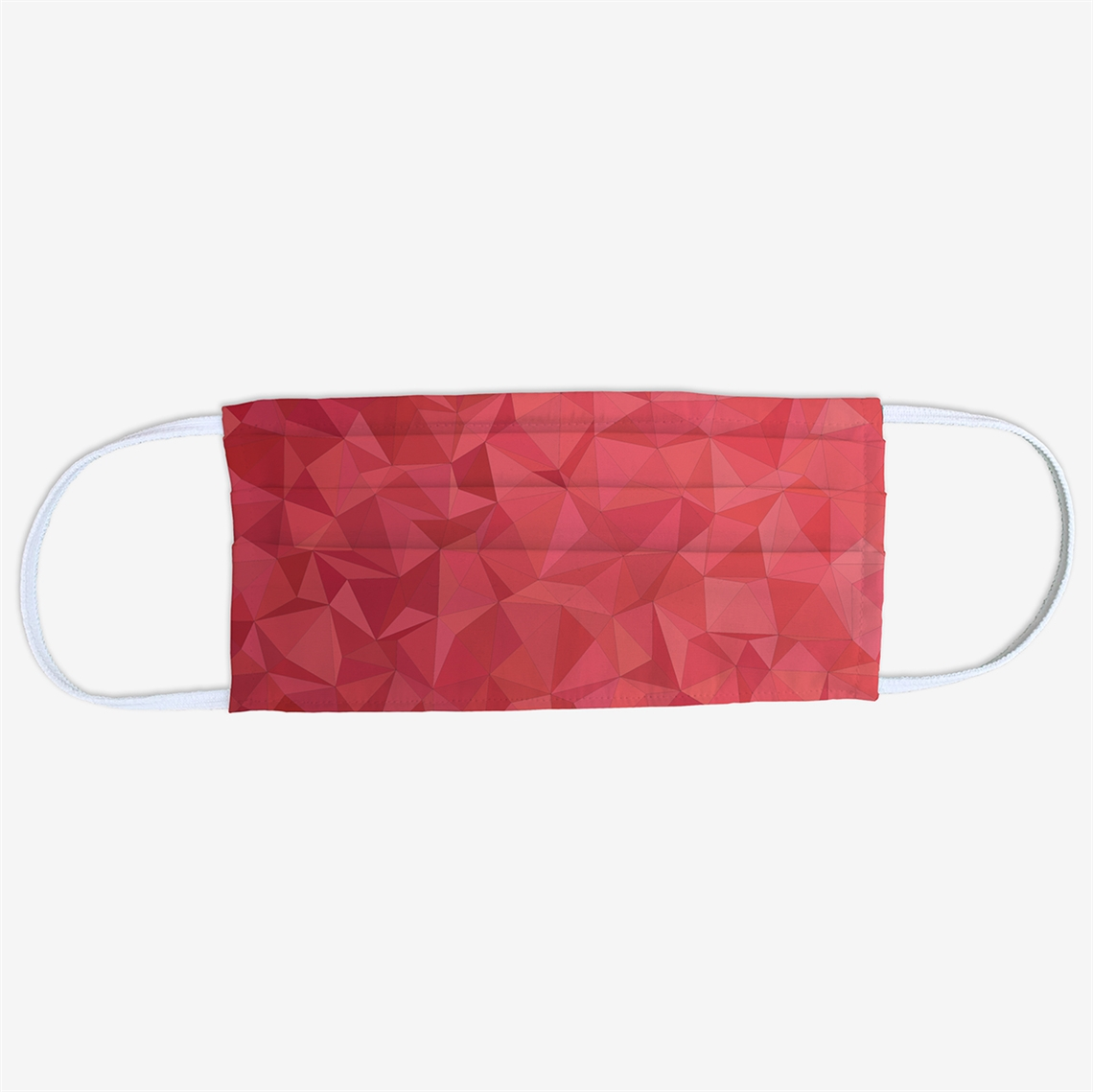 Picture of Triangle Red Face Mask