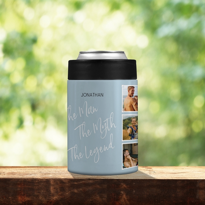 Picture of The Man The Myth Stainless Steel Koozie