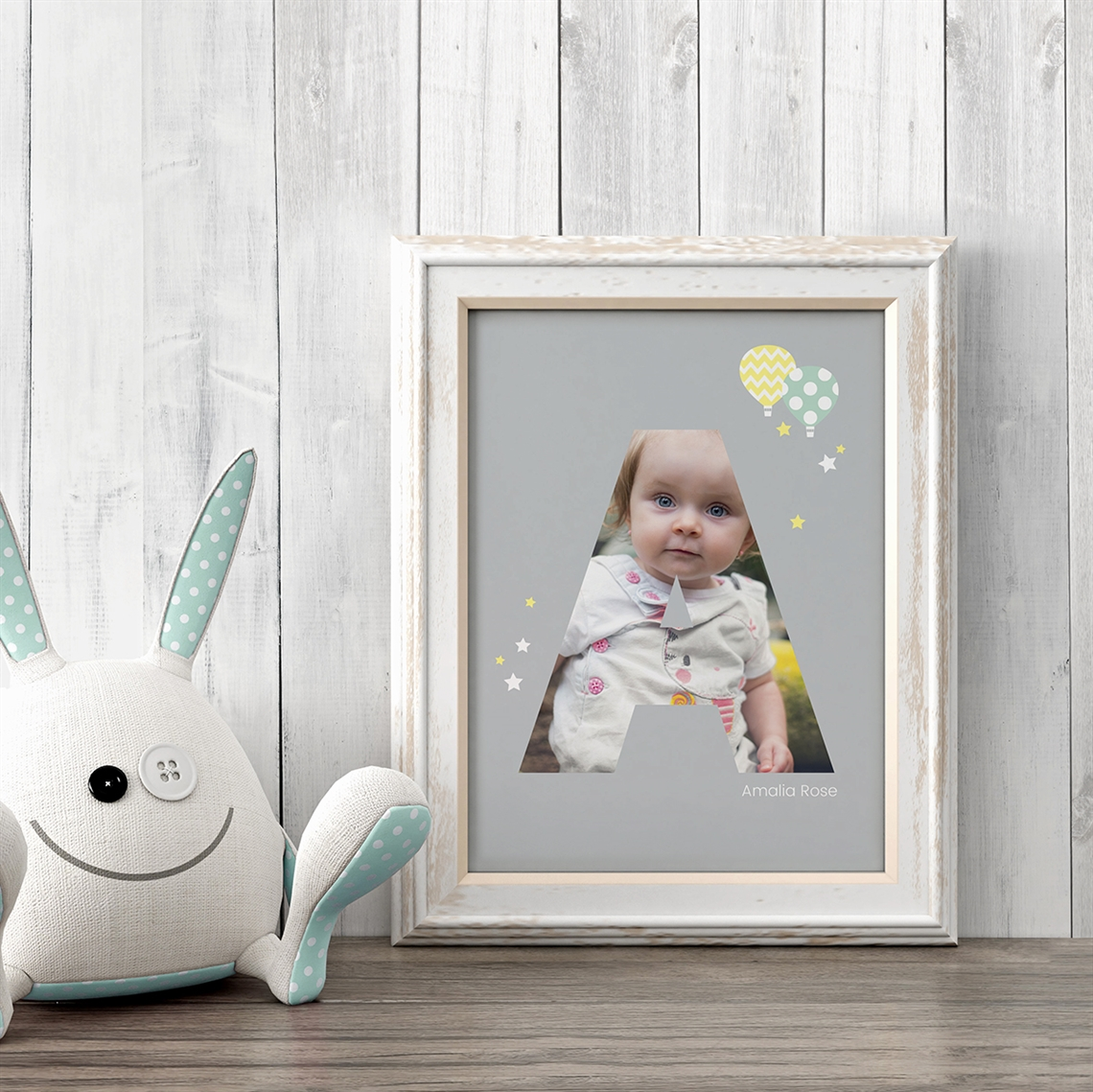 Picture of Baby & Kids Letter A Poster