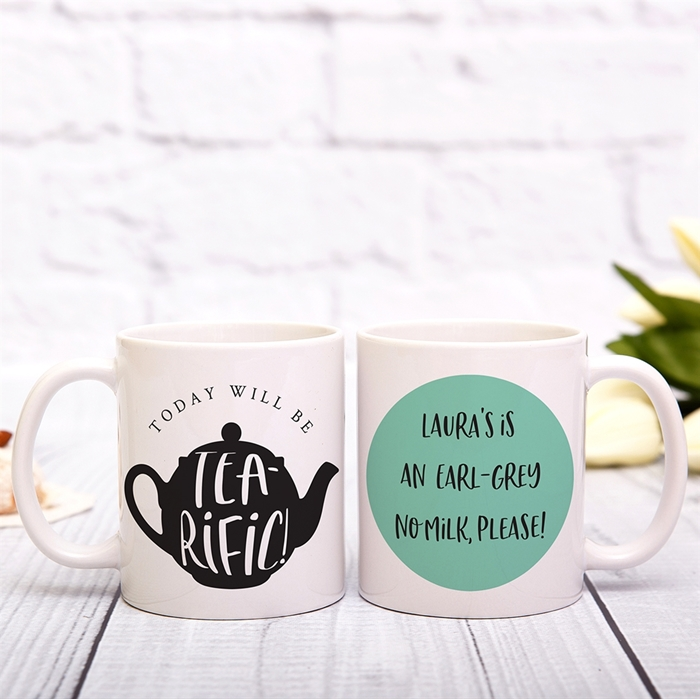 Picture of Tea-rific Personalized Mug