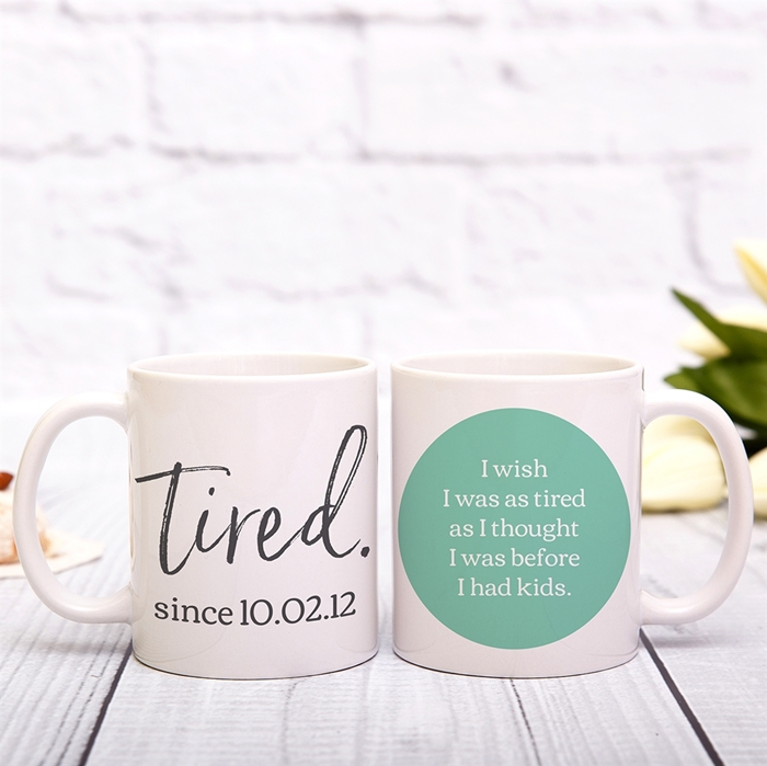 Picture of Tired Personalized Mug