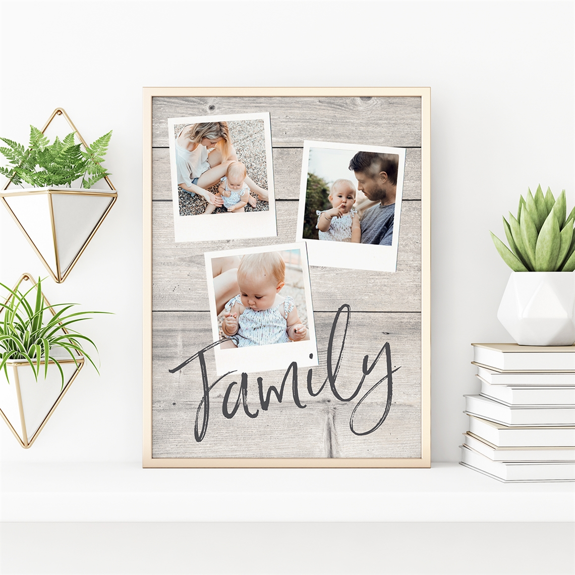 Picture of Family Polaroid Personalized Poster