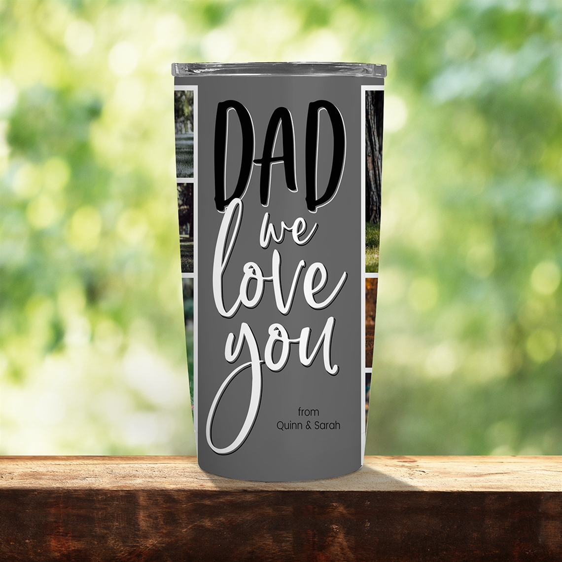 Picture of Dad We Love You 20oz Tumbler