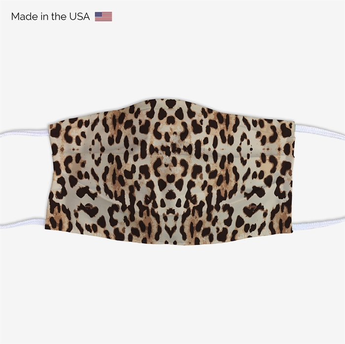 Picture of Leopard Print Face Mask