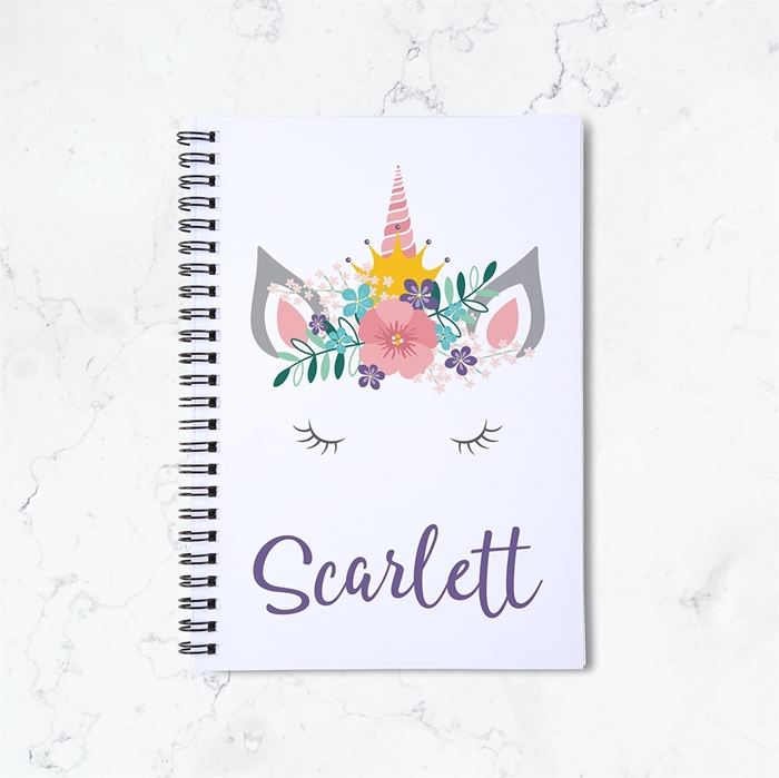 Picture of Unicorn Crown Spiral Notebook