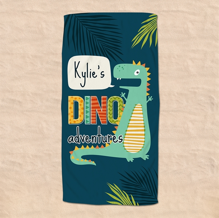 Picture of Dino Beach Towel