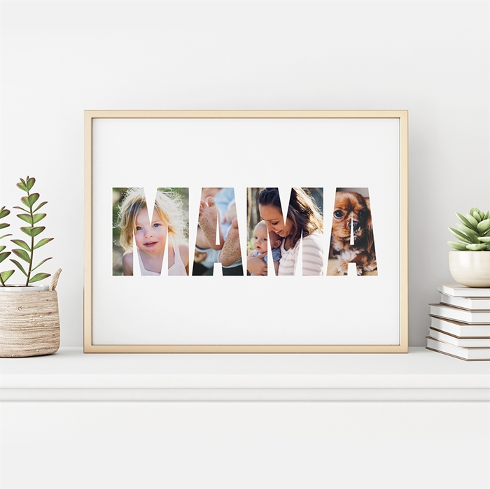 Picture of Mama photo Personalized Poster