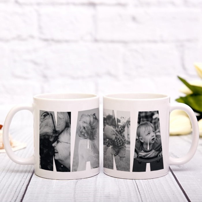 Picture of Nanna Photo Personalized Mug