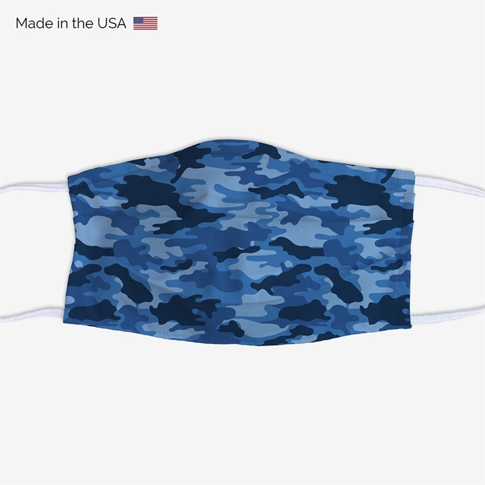Picture of Blue Camo Face Mask