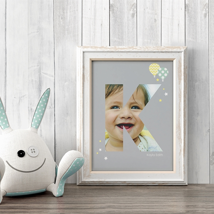 Picture of Baby & Kids Letter K Poster