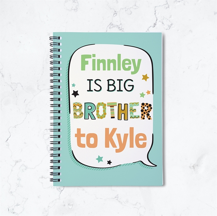 Picture of Big Brother Spiral Notebook