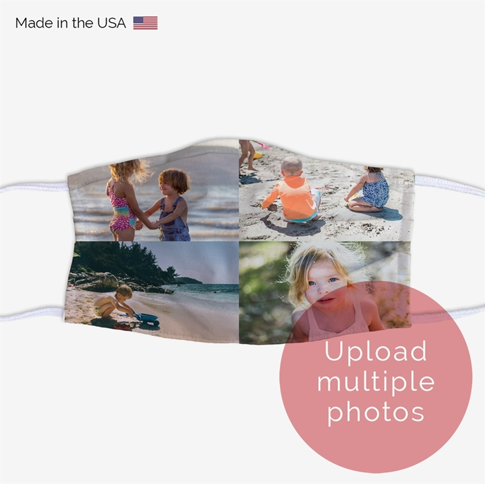 Picture of Upload Multiple Photos Face Mask