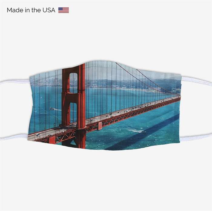 Picture of Golden Gate Bridge Face Mask