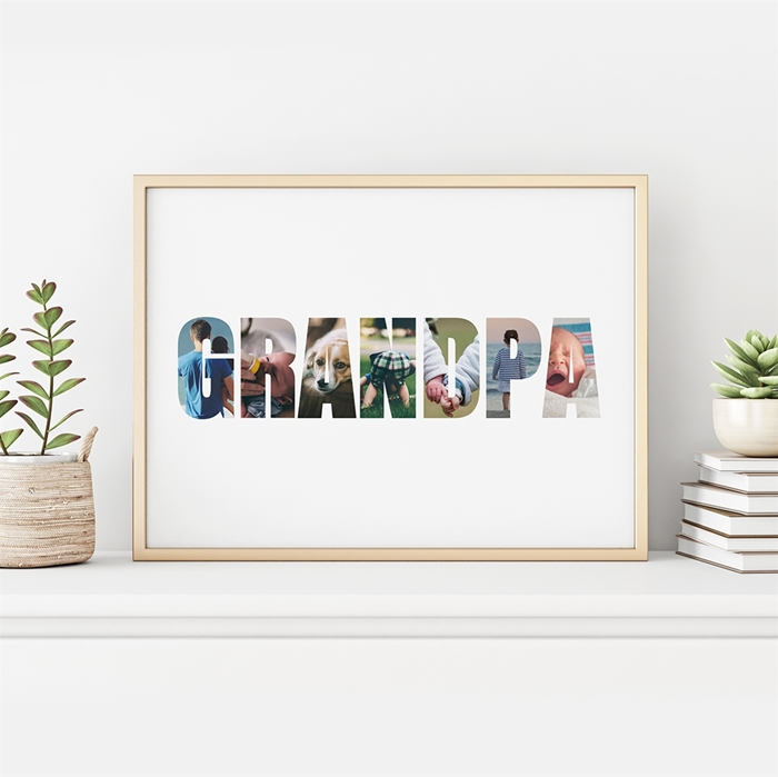 Picture of Personalized Grandpa Photo Poster