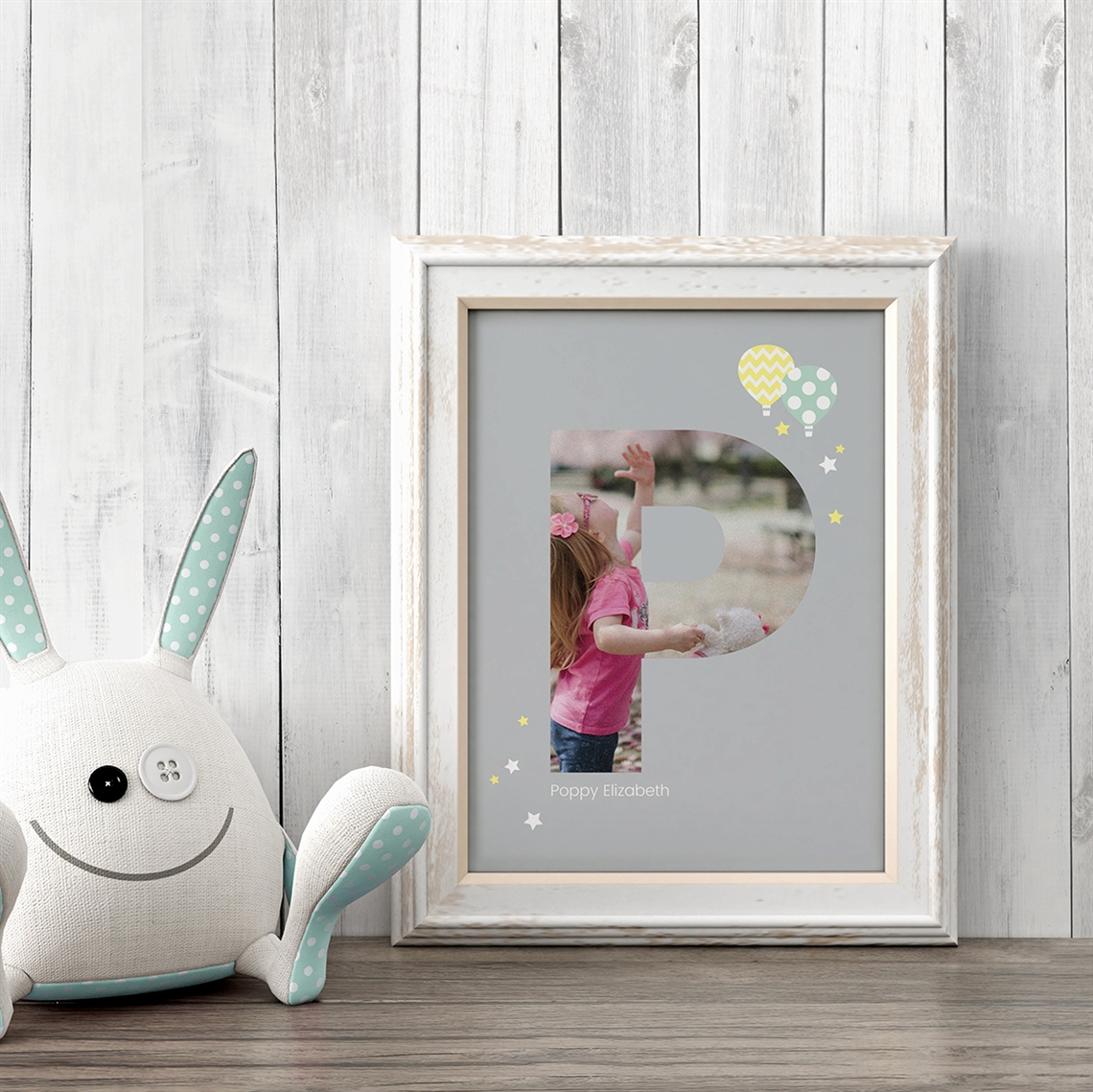 Picture of Baby & Kids Letter P Poster