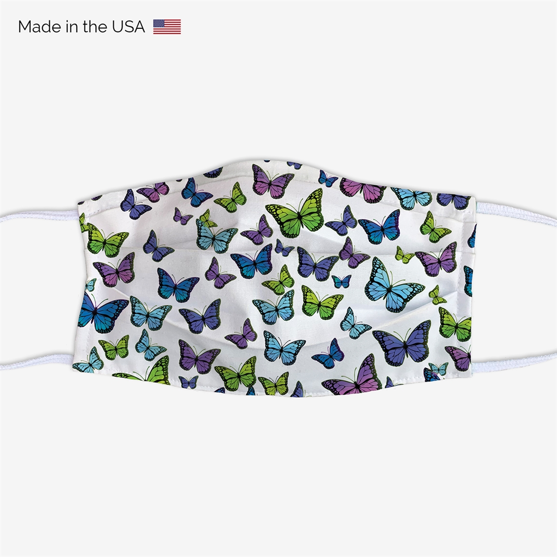 Picture of Butterflies Face Mask