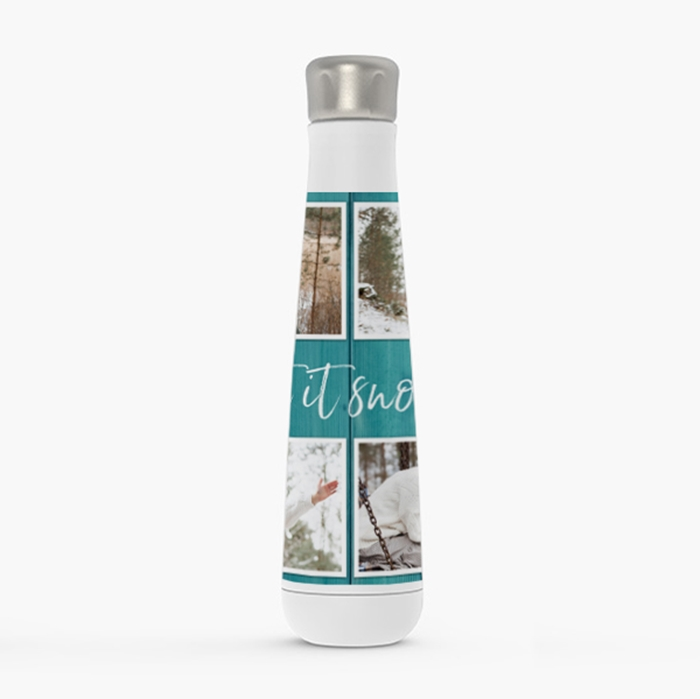 Picture of Boho Wooden Stainless Steel Water Bottle