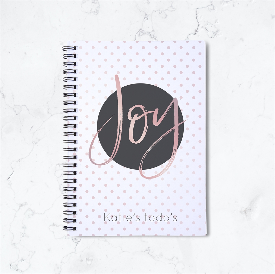 Picture of Joy Spiral Notebook