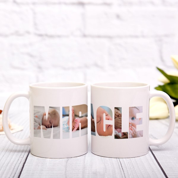 Picture of Miracle Photo Personalized Mug