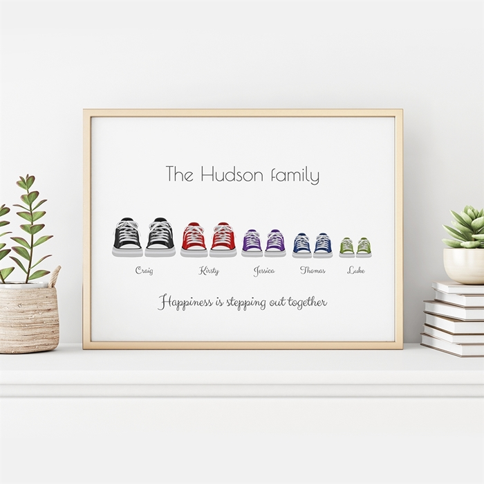 Picture of Converse-Style Family Poster