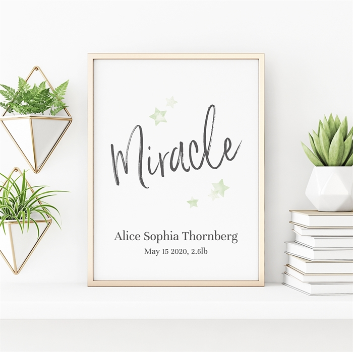 Picture of Miracle Baby Poster