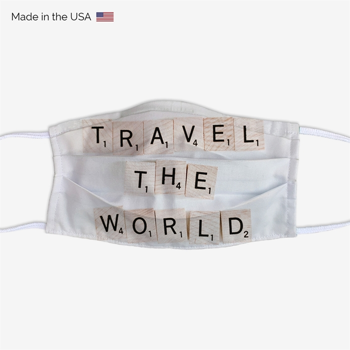 Picture of Travel The World Face Mask