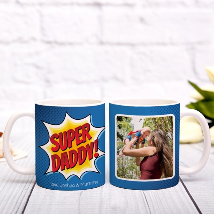 Picture of Super Daddy Personalized Mug