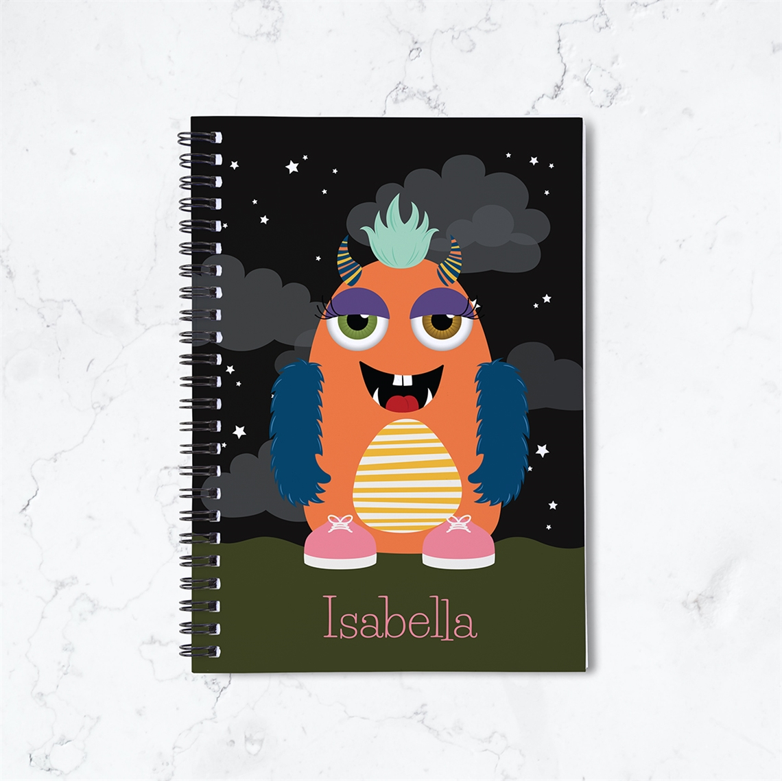 Picture of Monster Mash Girl Notebook