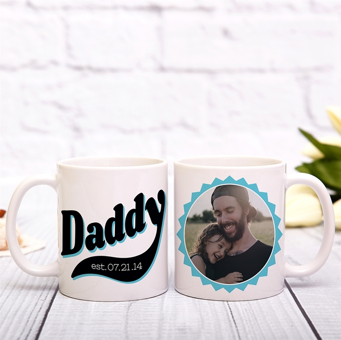 Picture of Daddy Circle Personalized Mug
