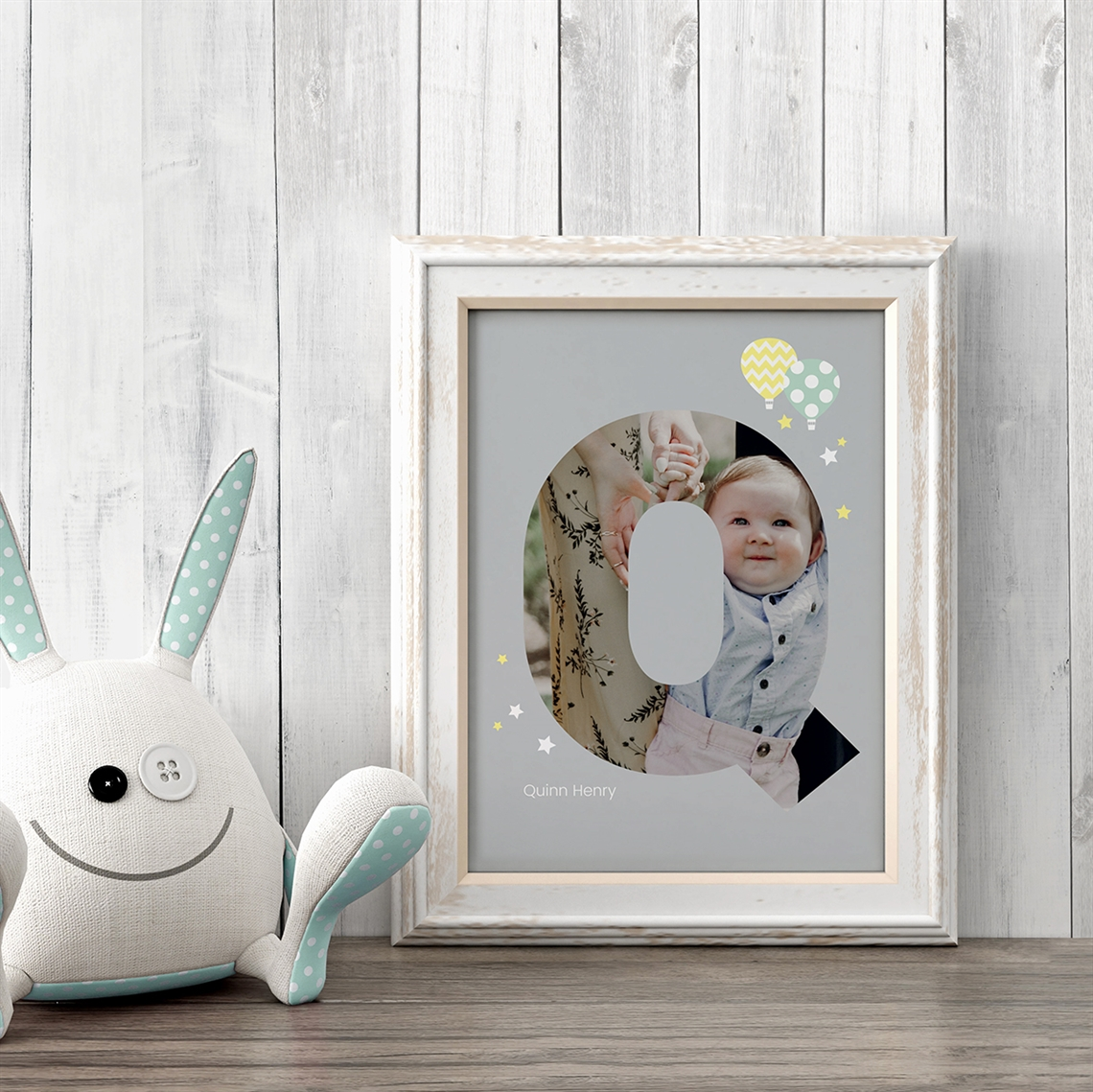 Picture of Baby & Kids Letter Q Poster