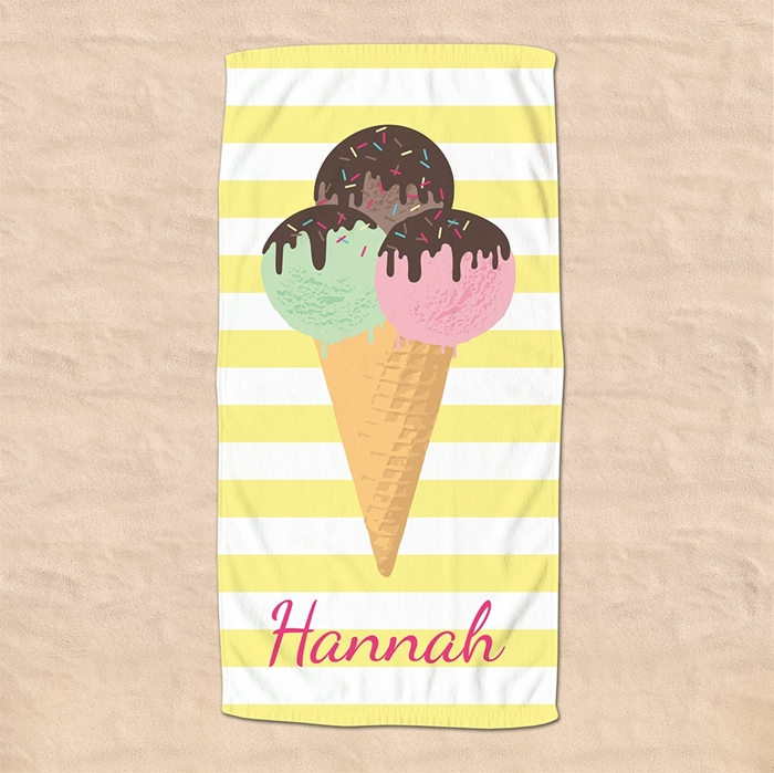 Picture of Ice Cream Beach Towel
